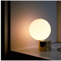 Wholesale Carola Modern Table Lamp White Color LED Lights E27 Lamp Base Desk LED Lighting With LED Bulb