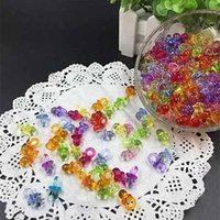 Wholesale High Quality Clear Baby Shower Favors Mini Pacifiers Girl Boy Party Decorations