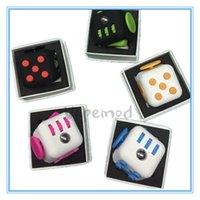 Wholesale Fidget Cube Stress Relief Toy Games for Adult World American Desk Toys Children to Relieve Anxiety and Pressure Decompression Toys