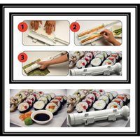abs molds - New Arrival DIY Camp Chef Sushezi Roller Kit Sushi Bazooka Made Easy Sushi Rolls Maker Mold Cooking Tools Using ABS P Cheaper SSZ01