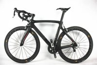 Wholesale The most popular F8 carbon complete bike with T1100 K K F8 road bike carbon Frames mm carbon road bike Wheels
