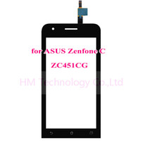 """Touch Screen Digitizer for Asus ZenFone C ZC451CG Z007 4.5"""" Wholesale- 4.5"""" Black TP for Asus ZenFone C ZC451CG Z007 Touch Screen Digitizer Glass Panel No LCD Replacement Part Free Shipping+Tools"""