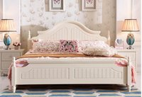 Wholesale Simply Solid wood europe design Antique Bedroom Furniture