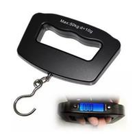 Wholesale CEL Smart Scale g kg Digital LCD Display Travel Portable Luggage Hanging Hook Scale SEP05