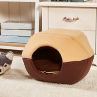 Wholesale Cat house cat Beds pet nest pet cat sleeping bag factory direct Detachable pet nest