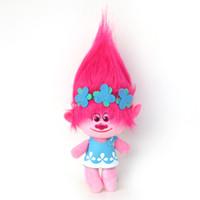 Wholesale 4 Styles cm cm Trolls Plush Toy Poppy Branch Doll Cartoon Movie Stuffed Dolls Gifts For Kids