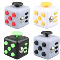 american dhl - 11 color New Fidget cube the world s first American decompression anxiety Toys DHL
