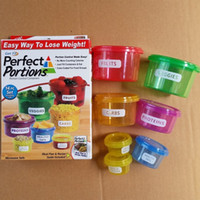 Wholesale 2017 preservation box Perfect Portions Portion Control Containers Food Storage Easy Way To Lose Weight Using Portion hot sell