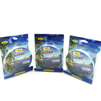 Wholesale m Monofilament Line Transparent Fishing Line mm mm