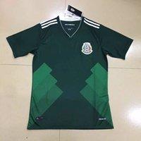 Wholesale Top Thai Mexico Jersey CHICHARITO home green away white shirt G DOS SANTOS R MARQUEZ C VELA Mexico camisetas de futbol