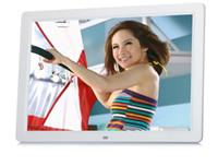 achat en gros de cadre 15 photo-Cadre photo numérique 15 pouces Natural-View HD avec support de stockage de 16 Go, lecteur MP3 et vidéo