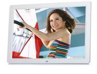 al por mayor marcos de medios digitales-Marco de fotos digital de vídeo de alta definición de 15 pulgadas con 16 GB de almacenamiento, reproductor de MP3 y vídeo