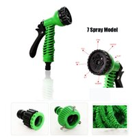 Timers & Controllers Plastic hose garden atering Irrigation Garden Hoses Reels 25-150FT Expandable Magic Flexible Garden Hose For Car Water Pipe Plastic Hoses To Watering With Sp...