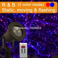 Wholesale Red Blue firefly christmas laser lights star projector laser outdoor xmas laser light shower decor christmas outdoor projector