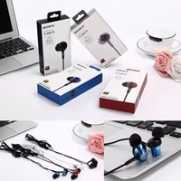 ar sharp - Fashion Sony In ar Universal mm Headphones Earphones Mic Headsets Earbuds For iPhone Samsung Mobile Phones PC Retail Package