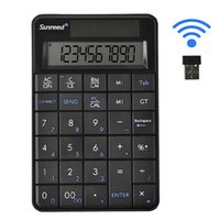 Wholesale New Sunreed mini keyboard in USB Numeric Keypad with Calculater Wireless Receiver Numeric Keypad for Microsoft Mac keypad