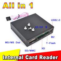 Todos en 1 lector de tarjetas interno USB 2.0 3.5