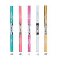 Wholesale BQAN Nail Art Brush Pen Rhinestone Acrylic Handle Dual Head Dotting Sculpturing Liner Nail Gel Brush