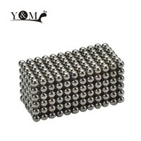 Wholesale 432 mm Magnetic Beads Kids Toys Magnets Magic Balls DIY Crafts D Puzzle Educational Toys for Children Deep Grey