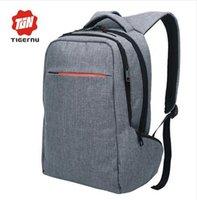 Wholesale Tigernu Brand Inch Laptop Computer Notebook Backpack Brand Men s Backpacks Designer Large Capacity School Bags for women