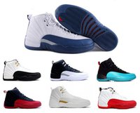 Wholesale 2016 air retro mens basketball shoes taxi ovo white wool grey cherry Flu game French Blue The master Barons Gym Red sneakers