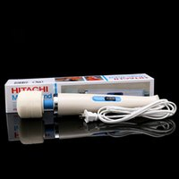 Wholesale Hitachi Magic Wand Massager AV Vibrator Massager Personal Full Body Massager HV R V Electric US EU AU UK Plug Promotion