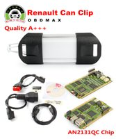automotive gold plating - Gold plated PCB A Quality AN2131QC chip for Renault Can Clip V160 Diagnostic Tool Can Clip for Renault auto diagnostic tool