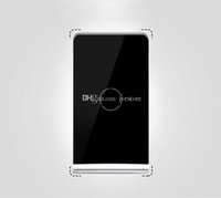 area blackberry - Anti slip utra thin large area charging for QI mobile phone coils universal wireless charger quick charging stand for Samsung S6 S7