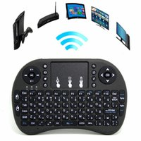 Wholesale Rii i8 Remote Fly Air Mouse mini Keyboard Combo Wireless G Touchpad Keypad For S912 S905X A95X TX3 Pro TV BOX Black