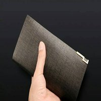 atmosphere purse - New high end grade atmosphere of genuine leather men long purse Leisure leather wallet wallet leather wallet