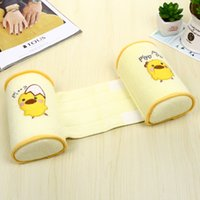Wholesale New Design Baby shape pillow Purified Cotton Baby Sleeping Posture Baby Safe Anti Roll Pillow Sleep Head Positioner
