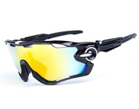 Wholesale 14 Style Jawbreaker Bicycle Sunglasses Outdoor Bicycle Glasses UV400 Polarized Cycling Eyewear Goggles Cycling eyewear