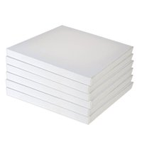 artist painting canvas - 5 Pec x30cm Blank Painting Canvas Pure Cotton Stretched Artist Canvas Boards for Acrylic Oil Paint