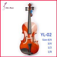 Wholesale Basswood Polywood Violin Violin with Size Violin Sent with Bow Rosin and Case