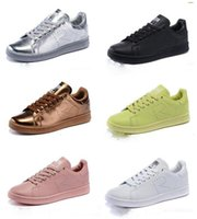 Wholesale Hot Sale design Raf Simons Stan Smith Shoes Fashion Casual Leather skate Shoes brand Classic Flats Sneakers