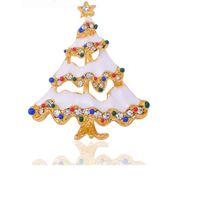 asian wedding customs - Christmas Brooch Custom European And American Jewelry Christmas Tree Jewelry High Grade Grops Of Oil Clothing Christmas Brooch Custom