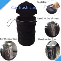 Wholesale Collapsible high class recycle car trash bin