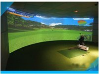 Wholesale Customized The newest fashion Indoor golf simulator top quality full set golf equipment Golf trainers