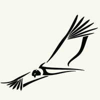 bald eagle stickers - Sky Fly Freely Bald Eagle Tribal Condor Car Sticker for Window Bumper Laptop Kayak Car Decor Reflective Vinyl Decal