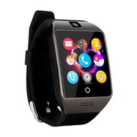 aw card - Aw New Luxury Q18 Smart Watch Q18S inteligente Support SIM TF Card Bluetooth WAP For Android IOS PK HUAWEI Smart watch