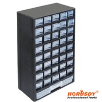Wholesale HORUSDY Drawer Plastic Parts Storage Hardware and Craft Cabinet Tool Box inch