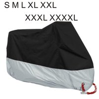 Wholesale 7size Motorcycle Bike Moped Scooter Cover Dustproof Waterproof Rain UV Dust Prevention Covering Heavy Racing Bike Cover storage bag colors