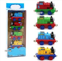 Wholesale Magnetic Stacked Train Set Locomotive Track Stacking Locomotive Educational Toy Creative Skill Builders Set Of