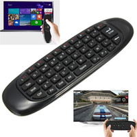 Wholesale 2 GHz G Mouse II C120 Air Mouse T10 Rechargeable Wireless GYRO Air Fly Mouse Keyboard for S905X S912 X96 Android TV Box