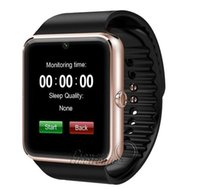 alloy slot - Bluetooth Smart Watch GT08 Thermomet with SIM Card Slot NFC Health Watches for Android Samsung and IOS Apple iphone Smartphone Smartwatch