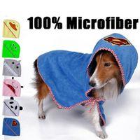 Wholesale Pet Fashion Series Dog Bathing Products Dog Towel Microfiber super soft absorbent pet towel sizes colors wn020
