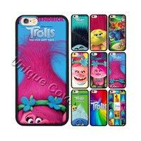 apple trolls - Trolls Poppy Branch Elves Biggie Case For iphone s Hybrid TPUPC Phone Case Free Gift