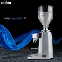 Wholesale Xeoleo Professional Coffee Grinder Commercial Coffee Powder Milling machine Electric Coffee Bean Grinding machine Bean Grinder