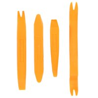 Wholesale Plastic Car Auto Vehicle Dismantling Device Pry Tools for Car Care Audio Ventilation Automotive Repair Kits Orange CDE_909