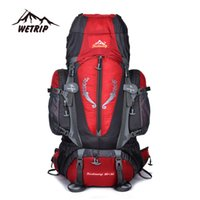 Wholesale Outdoor large capacity support professional mountaineering bag L waterproof men and women outdoor backpack hiking bag